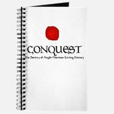 Conquest Logo and Seal Large Journal