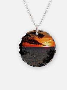 Lake Superior sunset Necklace