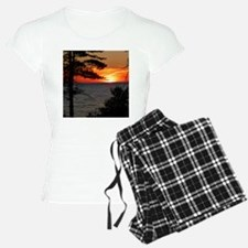Lake Superior sunset Pajamas