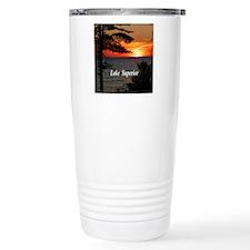 Lake Superior sunset Travel Mug