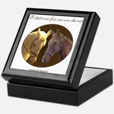 Horse Design by Chevalinite Keepsake Box