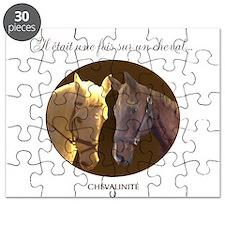 Horse Design by Chevalinite Puzzle