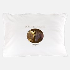 Horse Design by Chevalinite Pillow Case