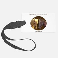 Horse Design by Chevalinite Luggage Tag
