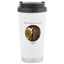 Horse Design by Chevali Travel Mug