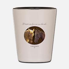 Horse Design by Chevalinite Shot Glass