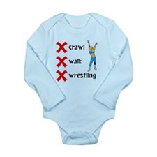 Crawl Walk Wrestling Body Suit