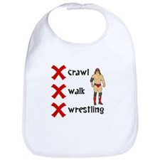 Crawl Walk Wrestling Bib