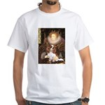 The Queen's Cavaliler White T-Shirt