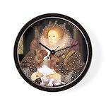 The Queen's Cavaliler Wall Clock
