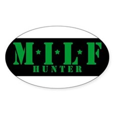milf hunter Decal