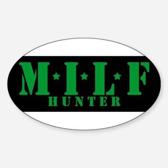 milf hunter Decal