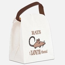 Rats Love Them Canvas Lunch Bag
