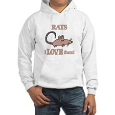 Rats Love Them Hoodie
