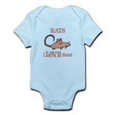 Rats Love Them Infant Bodysuit