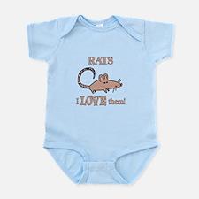 Rats Love Them Infant Bodysuit