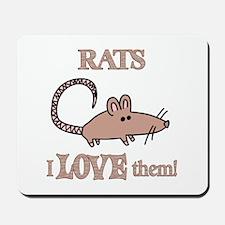 Rats Love Them Mousepad