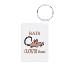 Rats Love Them Keychains