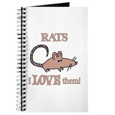 Rats Love Them Journal