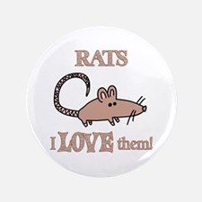 """Rats Love Them 3.5"""" Button (100 pack)"""
