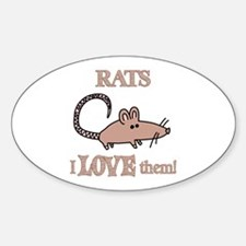Rats Love Them Decal