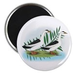 Magpie Drake and Duck Magnet