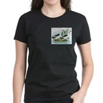 Magpie Drake and Duck Women's Dark T-Shirt