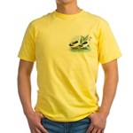 Magpie Drake and Duck Yellow T-Shirt
