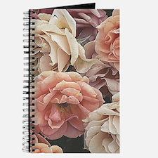 great garden roses, vintage look Journal