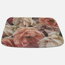 great garden roses, vintage look Bathmat