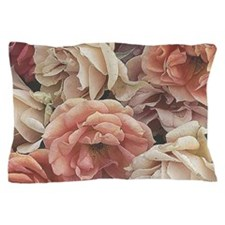 great garden roses, vintage look Pillow Case