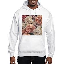 great garden roses, vintage look Hoodie