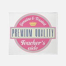 Teacher's Aide Throw Blanket