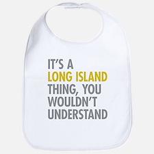 Long Island NY Thing Bib