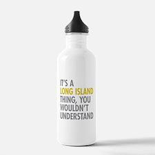 Long Island NY Thing Water Bottle
