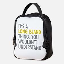 Long Island NY Thing Neoprene Lunch Bag