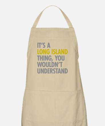 Long Island NY Thing Apron