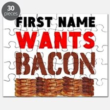 Wants Bacon Puzzle