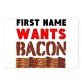 Bacon Postcards