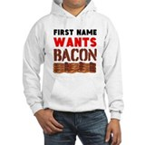 Bacon Hooded Sweatshirt