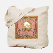 Ancient Victorian design in pastel tones Tote Bag