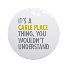 Its A Carle Place Thing Ornament (Round)
