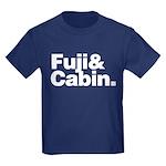 Fuji Cabin Kids Dark T-Shirt