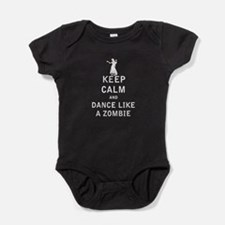 Keep Calm and Dance Like a Zombie - White Baby Bod