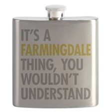 Its A Farmingdale Thing Flask