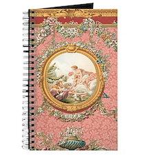 Ancient Victorian design in pastel tones Journal