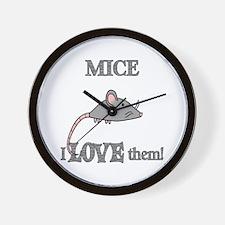 Monkeys Love Them Wall Clock