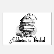 Addicted to Books! Postcards (Package of 8)