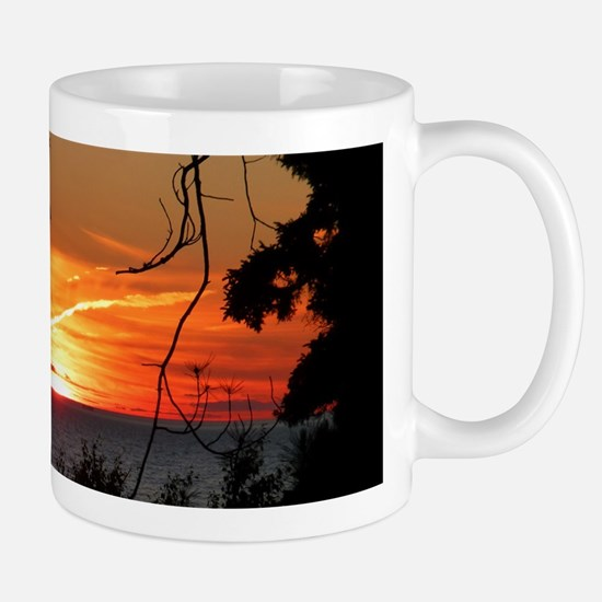 Lake Superior Sunset Mugs