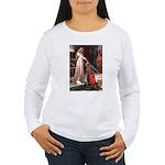 Princess & Cavalier Women's Long Sleeve T-Shirt